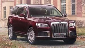 Rușii lucrează intens la un SUV de lux: Aurus Komendant