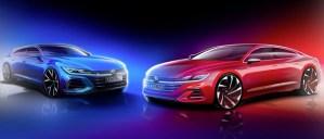 Volkswagen Arteon facelift se va lansa împreună cu noua versiune Shooting Brake
