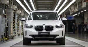 BMW anunță începerea producției în China, pentru modelul electric iX3