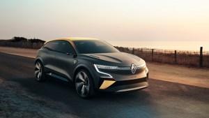 Renault Megane eVision, conceptul care anticipează primul Megane electric