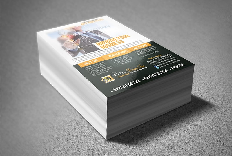Flyers printing for marketing promotions