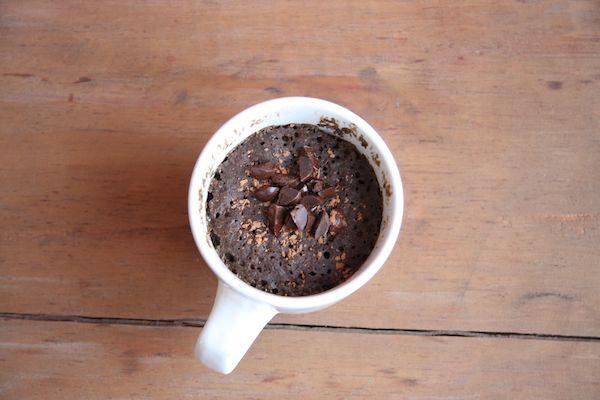Healthy Single Serving Molten Chocolate Mug Cake I 24 Carrot Life