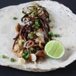 Wild Mushroom & Garlic Tacos