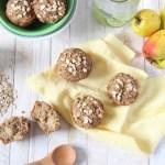 Gluten Free Brown Sugar Apple Oat Muffins