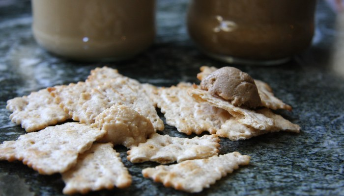 Homemade Peanut Butter & Sunflower Seed Butter