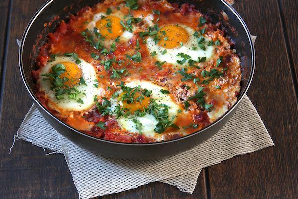 Moroccan Eggs