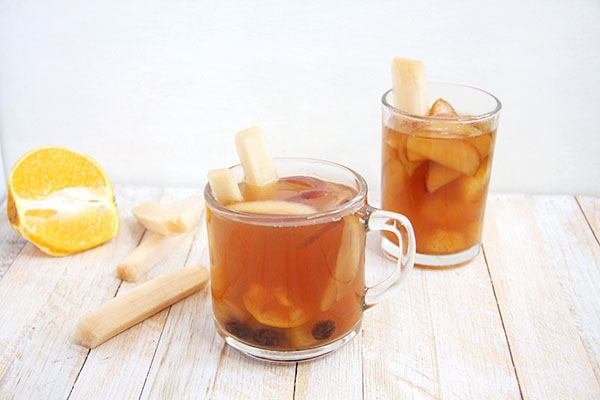 Mexican Ponche- a warming hot fruit punch I 24 Carrot Life