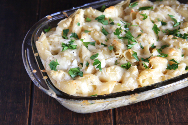 Lovely Cottage Cheese Baked Macaroni And Cheese I 24 Carrot Life  This Healthy  Version Of Your