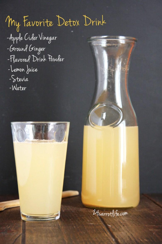 My Favorite Detox Drink // 24 Carrot Life