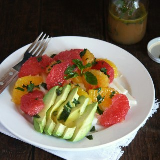 Spring Citrus Salad with Honey Mint Vinaigrette