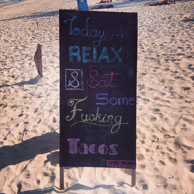 Wisdom on a Tulum Beach // 24carrotlife.com