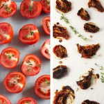 Before & After: Oven Dried Tomatoes // 24 Carrot Life #reciperedux #tomatoes #summer