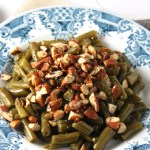 The Simplest Almond Green Beans