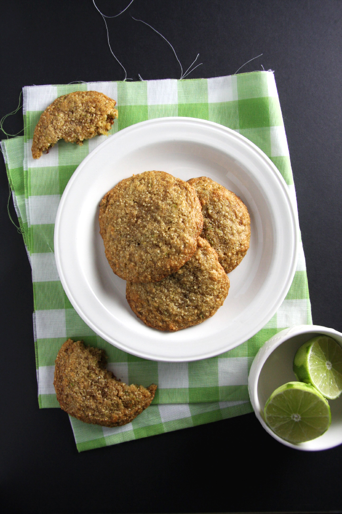 Lime Cashew Cookies // 24 Carrot Life #paleo #glutenfree