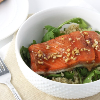 Garlic Soy Glazed Salmon