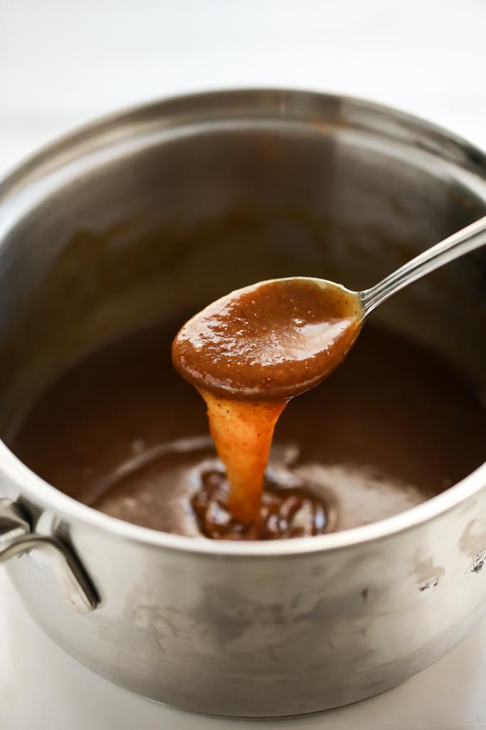 5 Minute Vegan Pumpkin Spice Caramel Sauce