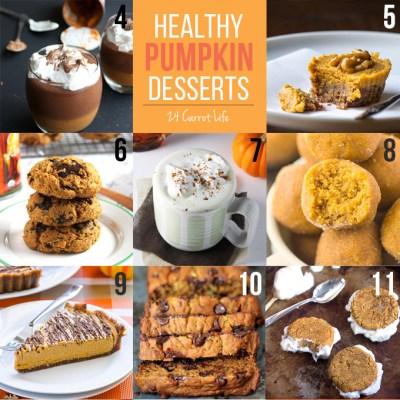 Healthy Pumpkin Desserts
