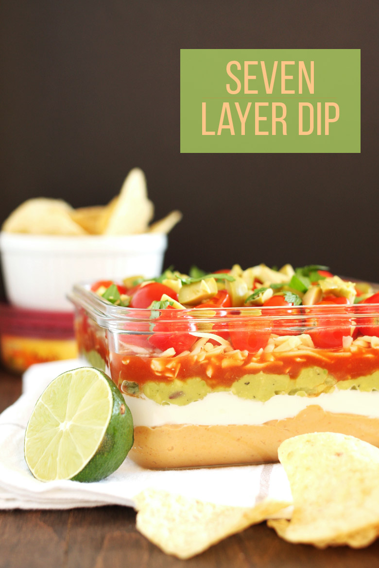 Healthy Seven Layer Dip // @24carrotlife #healthy #sponsored #sabra