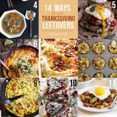 14 Recipes to Put Your Thanksgiving Leftovers To Use