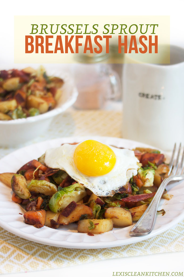 Brussels Sprout Breakfast Hash