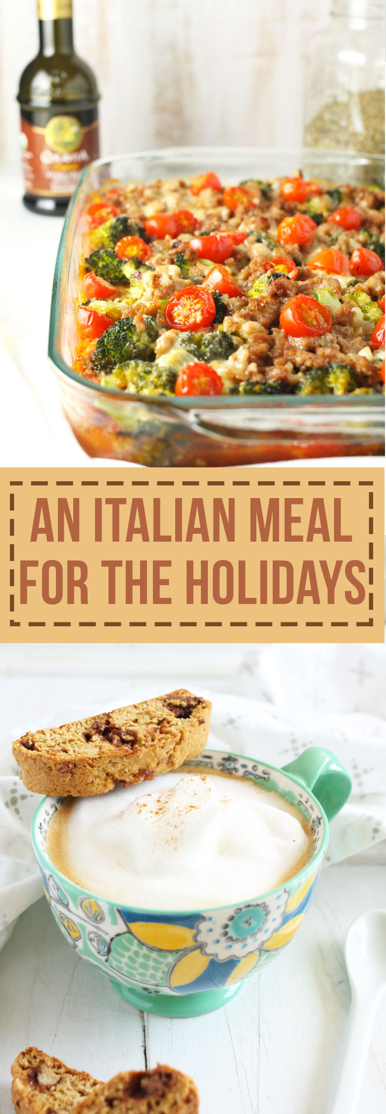 A Healthier Italian Meal for the Holidays // 24 Carrot Life #sponsored #JoinTheTable #Perugina @colavitaevoo #polenta #italian
