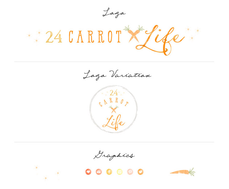 24 Carrot Life Rebrand