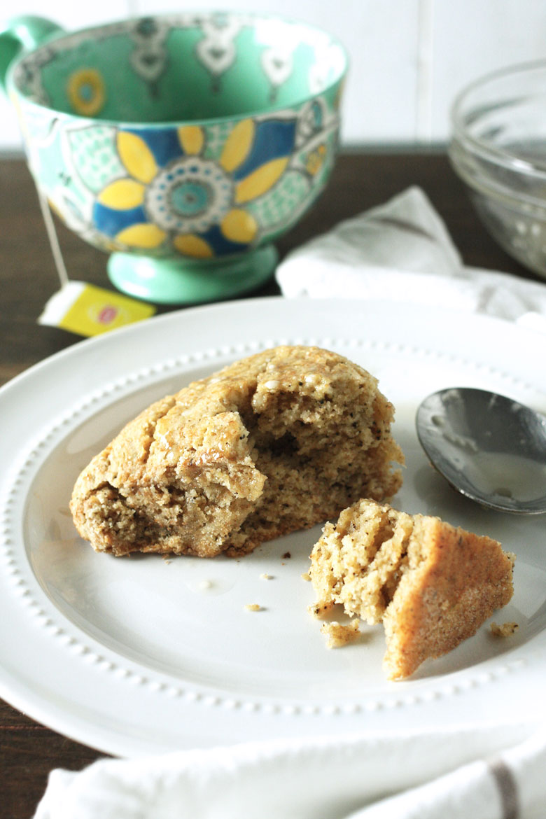 Earl Grey Scones // 24 Carrot Life #breakfast #scones #BRMEaster #CleverGirls