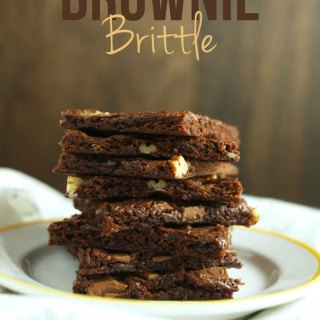 Festive Brownie Brittle