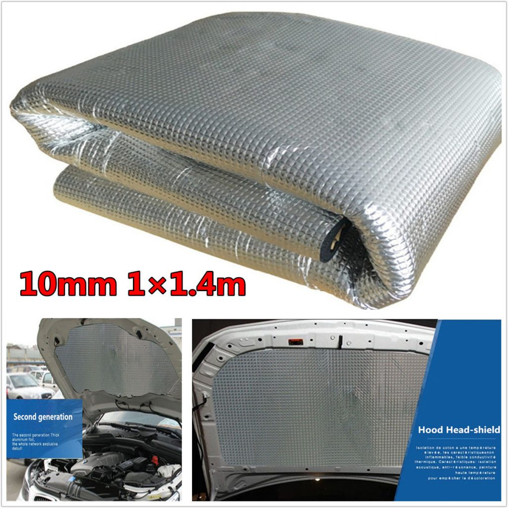 10mm sound deadener car exhaust heat