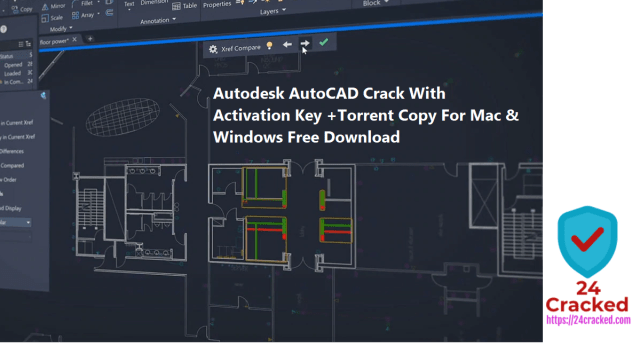Autodesk AutoCAD Crack With Activation Key +Torrent Copy For Mac & Windows Free Download