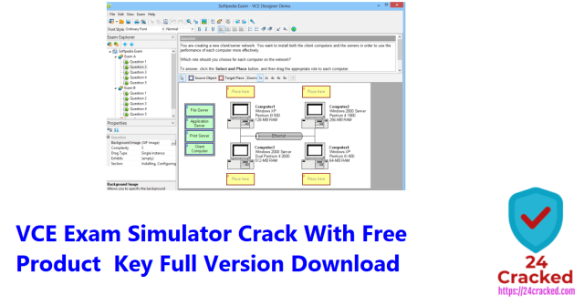 VCE Exam Simulator Crack With Free Product Key Full Version Download
