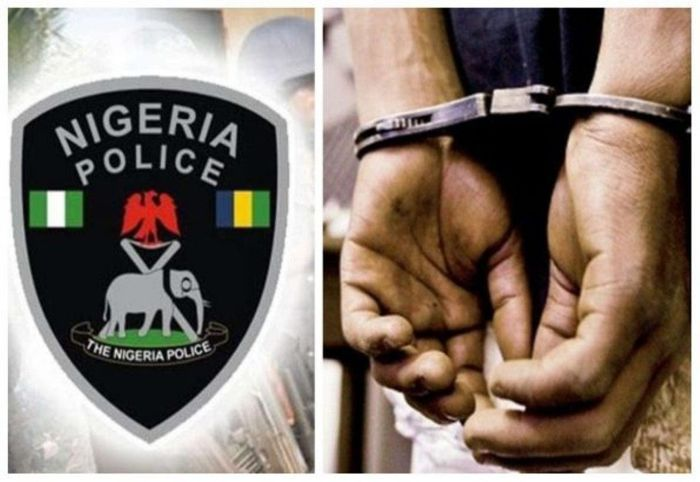 Drama As Fake Soldier Clashes With Air Force Personnel Inside Police Station