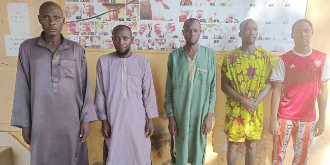 SAD! 5 Suspected Ritualists Arrested For Beheading Commercial Sex Worker (Read Details)