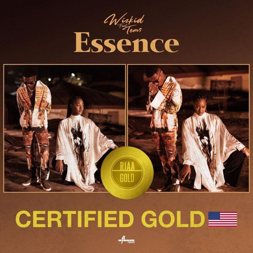 Wizkid Joins In Davido & Burna Boy's Achievement, Gets US Gold Certification