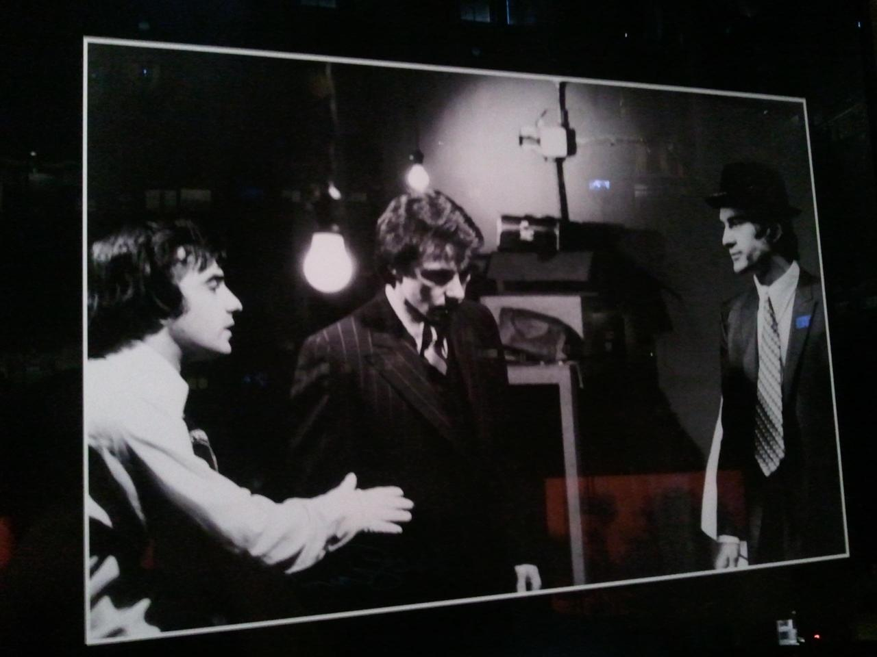 Martin Scorsece, Harvey Keitel & Robert De Niro On the SetMean Streets (1973)