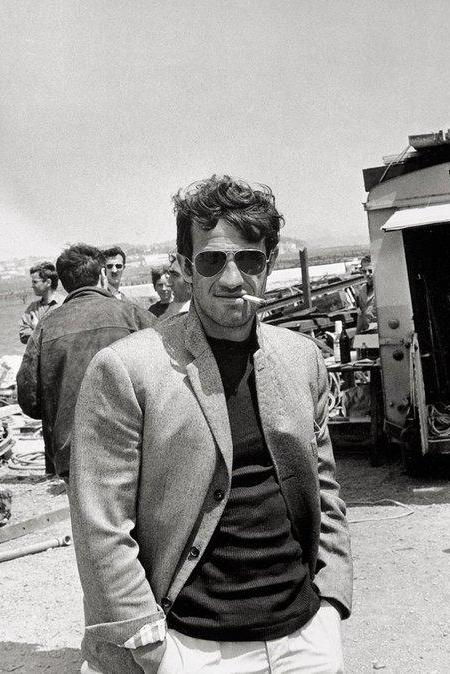 Pierrot le Fou On Set
