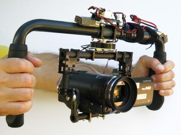 Самодельный ручной стабилизатор для камеры (видео)