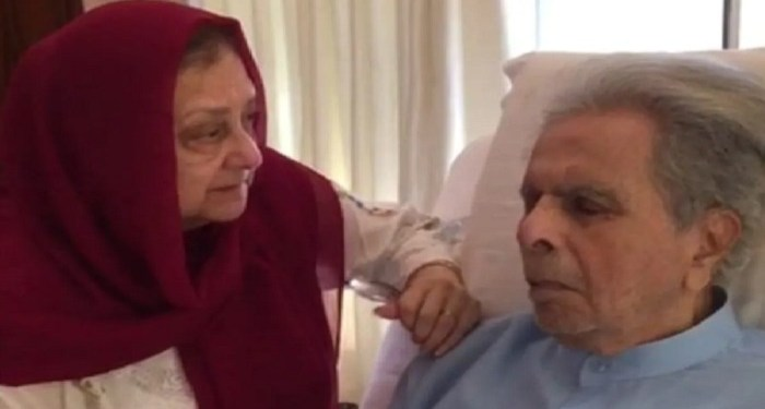 Dilip Kumar's health improved, his picture on social media