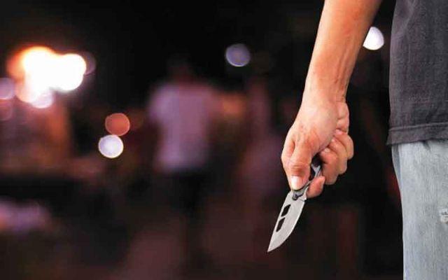 Αποτέλεσμα εικόνας για ληστεία μαχαίρι δρόμος