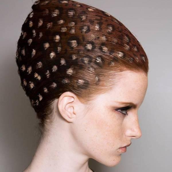 Такого ты еще не пробовала: рисунки на волосах