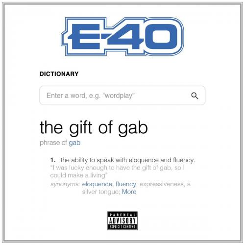 Stream Album E-40 The Gift Of Gab