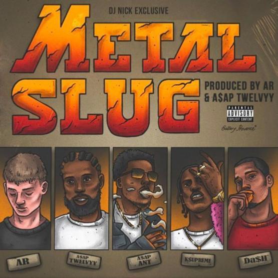 ASAP Ant Metal Slug Stream