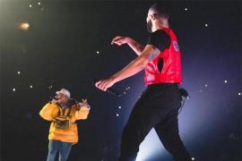 Drake Brings Out Chris Brown in Los Angeles: Watch