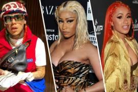 6ix9ine Hires Bartenders Suing Cardi B For Nicki Minaj Video
