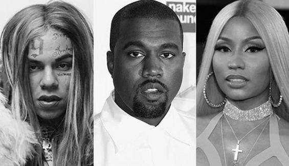 Stream 6ix9ine Ft Nicki Minaj Kanye West MAMA
