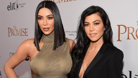 Kim & Kourtney Kardashian Step Out With Scott Disick & Sofia Richie