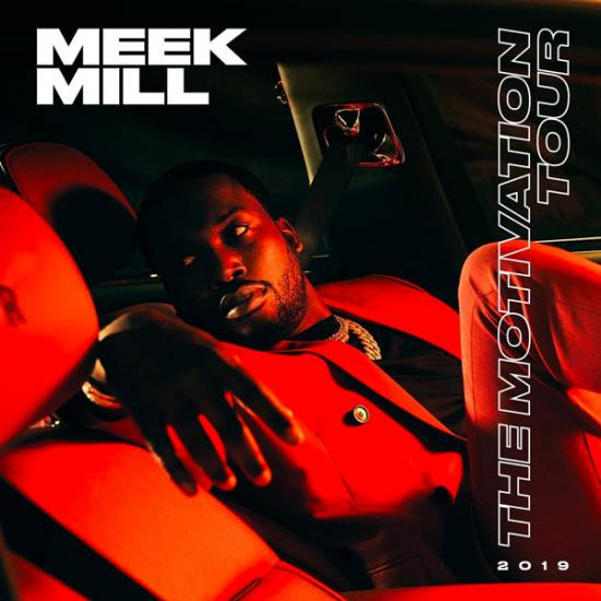 Meek Mill Announces 2019 'The Motivation Tour'