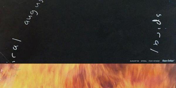 """NEW MUSIC: August 08 – """"Spiral"""" Ft. WYNNE"""