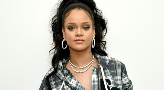 Rihanna Shares Lingerie Photo