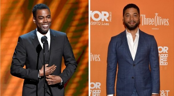 Chris Rock Rips Empire Star Jussie Smollett at NAACP Image Awards